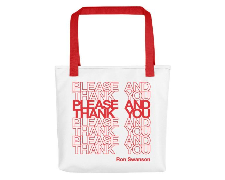 parks and recreation tote parks and rec quote 5b785ad2