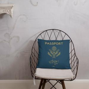 passport themed tote travel gifts 5cd88681