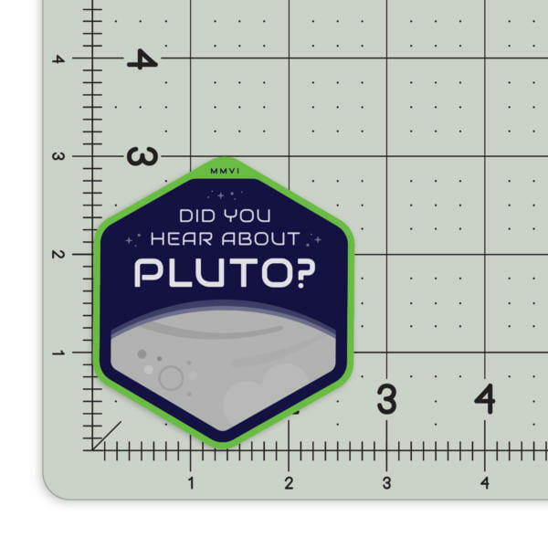 psych sticker did you hear about pluto 60222463